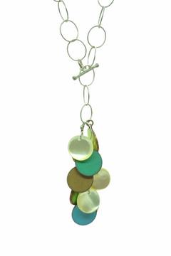 Beachy Pastel Tassel Necklace