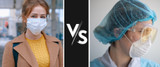 Surgical Face Mask and N95 Face Mask Comparison