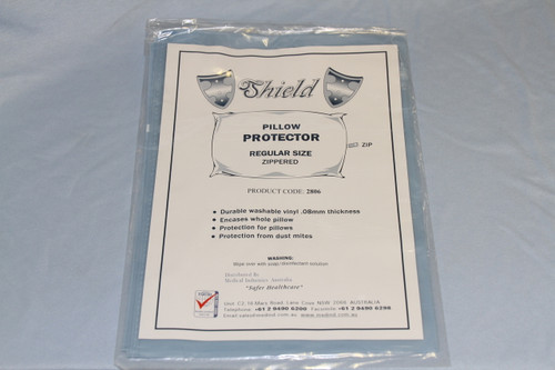 Pillow Protector- Zippered .08mm Vinyl
