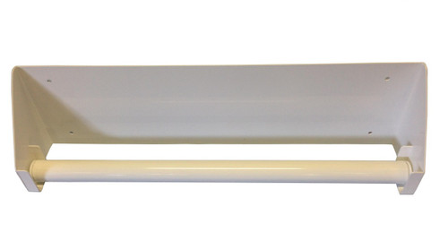 Wall mounting for Towel Roll, dispenser for Towel Rolls White 49cm , 1 pc