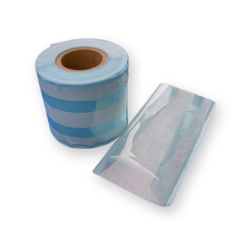 Sterilisation Reels-Gusseted Plain Paper /Film 250mm x 100m