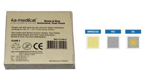 Bowie Dick  Autoclave Test pack (20 pcs)