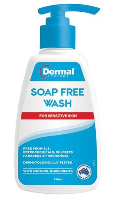 DERMAL THERAPY SOAP FREE WASH 250ML previously NOURISH NATURALS
