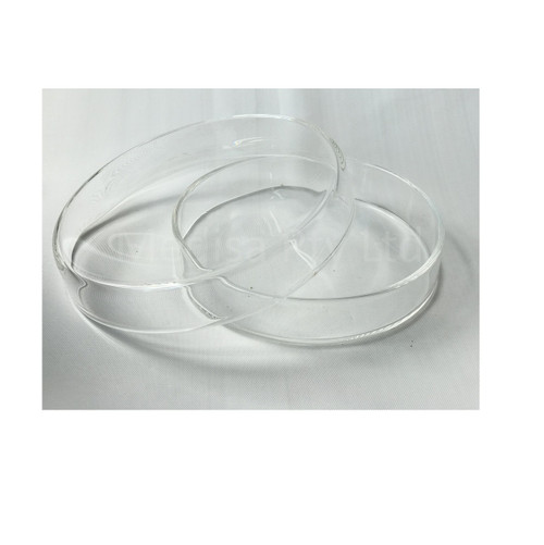 150mm, BOROSILICATE GLASS PETRI DISHES WITH LIDS