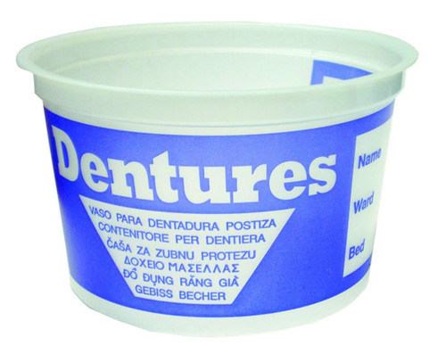 DENTURE CUP DISPOSABLE