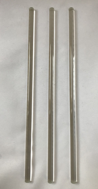 10pcs Glass Stirring Rod Length 200mm, Ø 6mm, Rods Stirrer