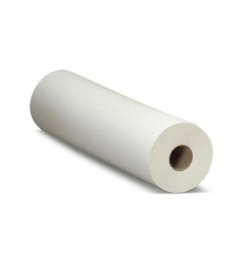 24 ROLLS Disposable Towel Roll, 24.5cm x 50M embossed, WHITE