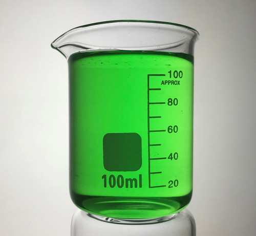 100 ml Borosilicate graduated laboratory glass beaker, Low Form