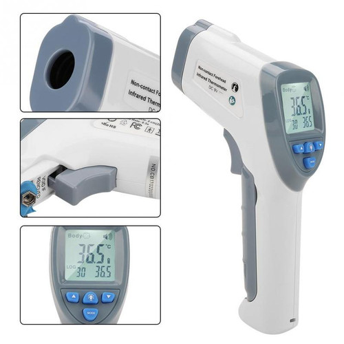 Digital Forehead Thermometer Infrared Non-touch Body Temperature LCD display,  Baby Adult, CE Approved