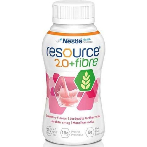 Resource 2.0 Fibre 200Ml Strawberry 3pcs