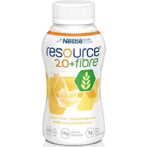 Resource 2.0 Fibre 200Ml Vanilla 3pcs