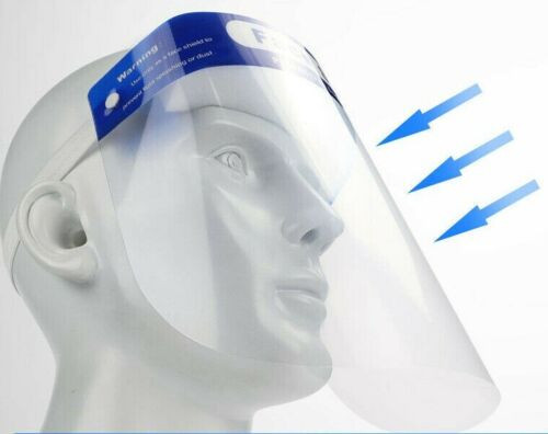Disposable Medical Dental Face Shields for protect face and eyes, 10 pc