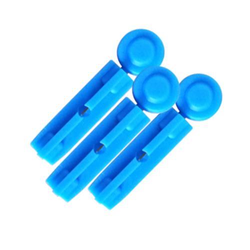 Recyclable Plastic Blood Lancet, Suit Monolet, Autolet Devices, 21 Gauge, Stainless Steel Tip, Sterile, Loose