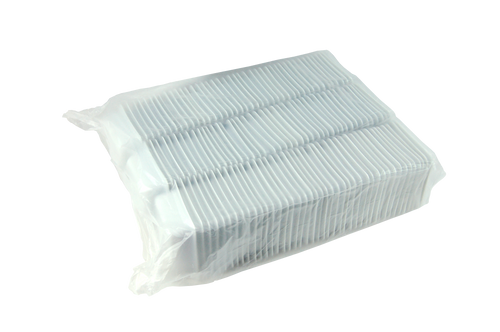 Balance Boats, Square, 100ml, 80 x 80 x 24mm, High Impact Recyclable Polystyrene, 2.2 grams, White, 1000 per Box
