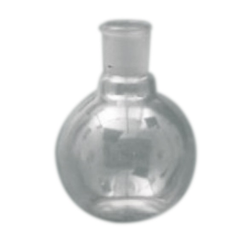 Flask, Spherical/Boiling, Flat Bottom, 250ml, Clear, Borosilicate Glass, Short Neck, Single Neck, SJ 24/29, Each