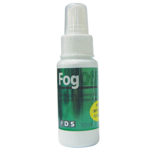 PDS Fog Off Solution Spray, 50ml Bottle, For Mirror, Each (33707)