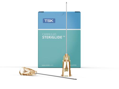TSK Steriglide Dermal Filling Cannula 25G x 38mm - Box of 20 pcs