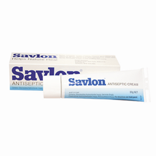Savlon Antiseptic Cream, Chlorhexidine Cetrimide, 30 grams, Each