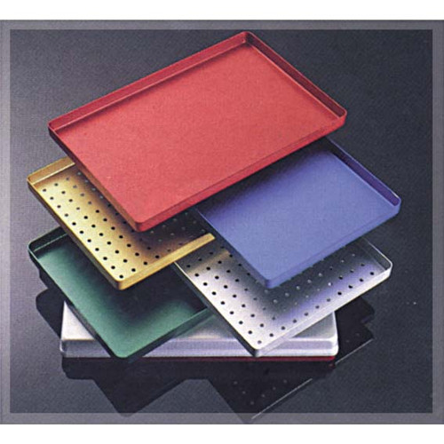 Instrument Tray, Spare Cover, 185 x 145 x 39mm, Mini, Grey, Aluminium, Each