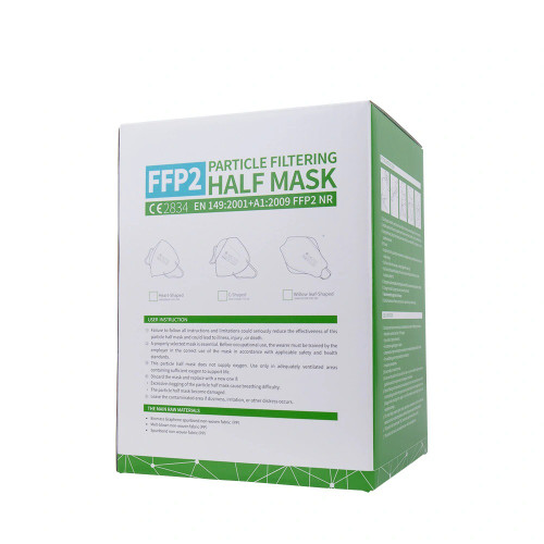 """40PCS,  FFP2/ P2 Face mask Particular respirator with 4-layers of Protection BFE>95%, TGA Registered, """"FREE SHIPPING"""""""