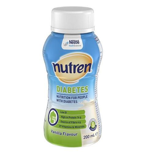 Nutren Diabetes Vanilla Bottle 200ml - 4pcs/pack - (12458604 )