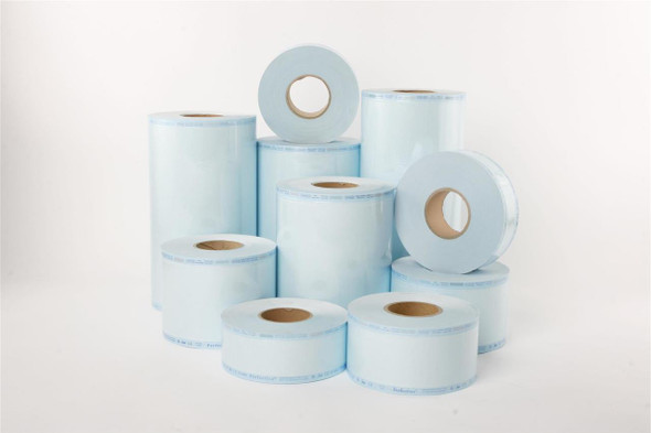 Sterilisation Reels- Plain Paper/Film 250mm x 200m
