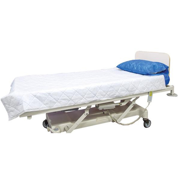 Disposable Blanket -Polyfill.  Weight 300gm 190cm x 110cm  - White - Box/50