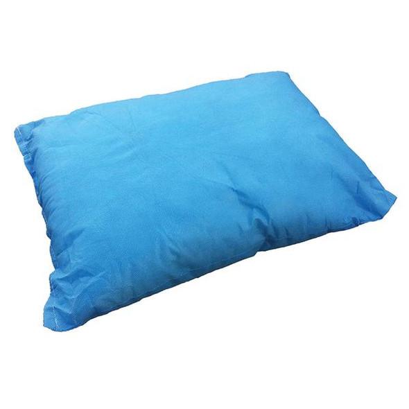 Disposable Pillow.  Half Size.  300gm 44cm x 33cm  - Light Blue - Box/50