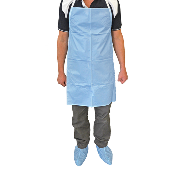 Reusable Lightweight PVC Over Boots for wet area use   - Light Blue - Pair
