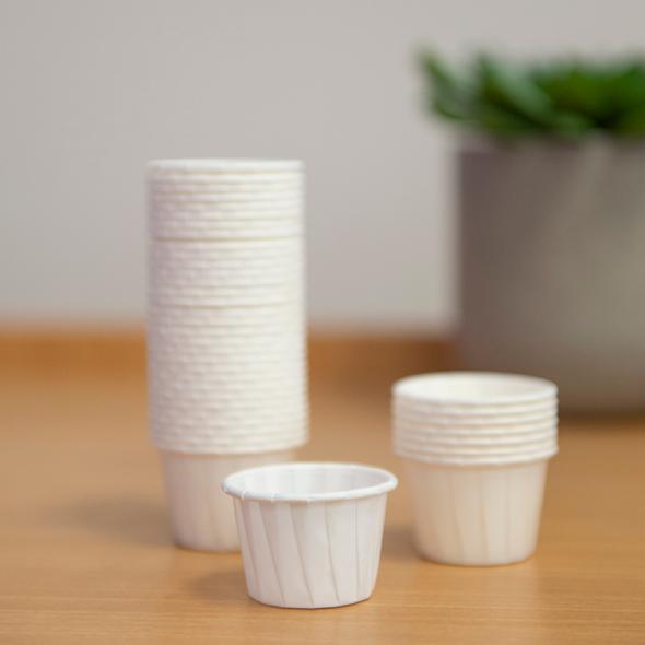 Disposable Pill Cups. 30ml.  Box of 5000  30ml  - White - Box/5000