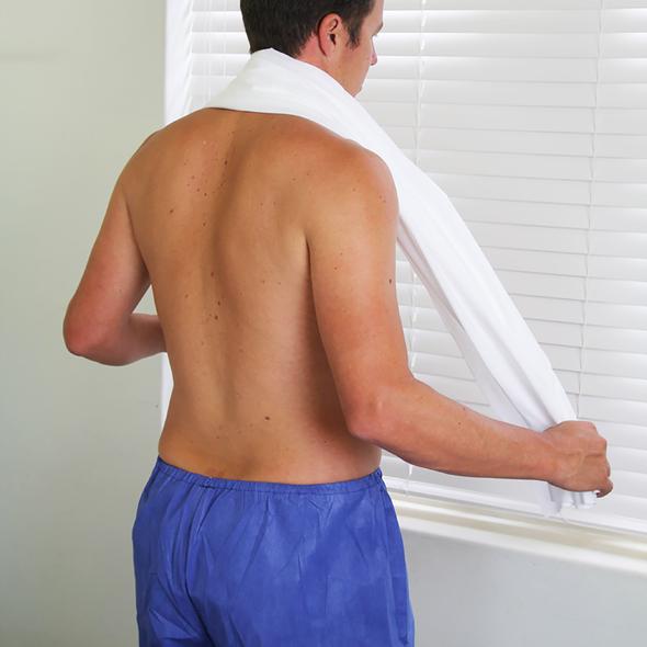 Disposable Towel 150cm x 80cm  - White - Box/100