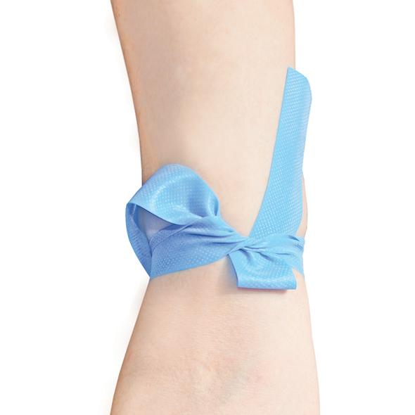 Disposable Tourniquet - Latex Free 45cm x 2.5cm  - Light Blue - Box/100