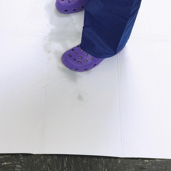 FloorDRY Absorbent Pad  100cm x 75cm  - White - Box/50