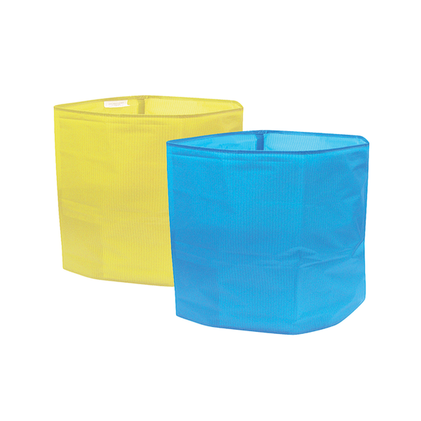 SallyActive Single Patient Use Chair Size Tube -  individually sealed 45cm wide x 45cm long (90cm circum.)  - Yellow - Box/50