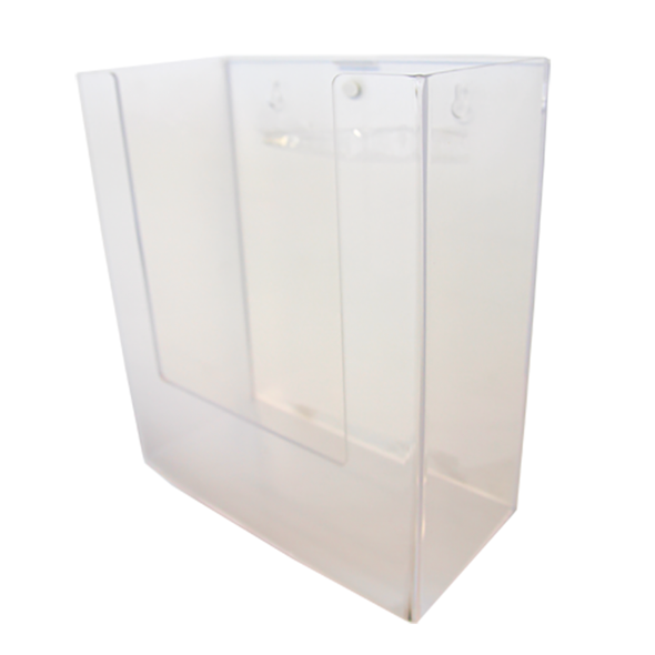 Acrylic Dispenser to fit inner boxes of 12 Single Use SallyTubes (MT STDSS-60) 24cm x 28cm x 12cm  - Clear - Each