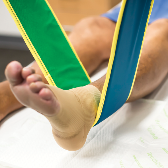 SallySling Limb Lifter Single Patient Use 165cm long x 14cm wide  - Green - Box/10