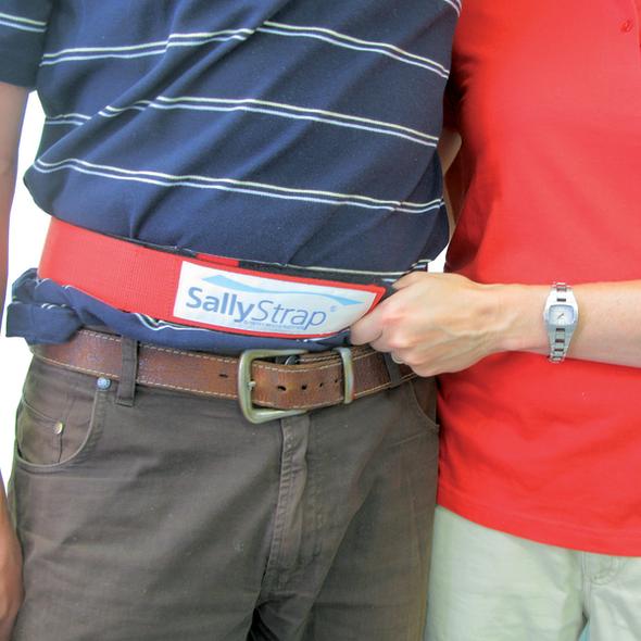 SallyStrap Large 170cm long x 5cm wide  - Grey - Each