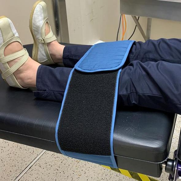 Disposable Patient Positioning Strap 180cm long x 16cm wide  - Teal - Box/25