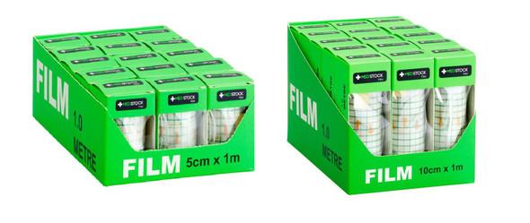 Medstock Film Dressing Rol - one box - sizes: 5cm / 10cm