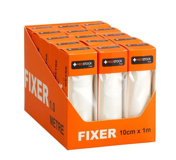 Medstock Fabric Roll Fixer - one box - sizes: 5cm / 10cm x 1m