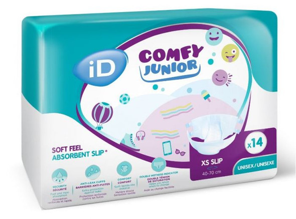 Id Comfy Junior Slip Xsmall 40-70Cm 5501025140-01 _ 12Pkts