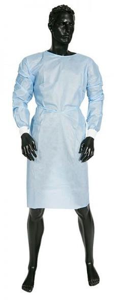 Gown 115Cmx135Cm Protective Disposable Blue 300804 _ 50pcs