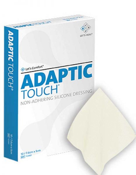 Adaptic Touch Silicone Dressing 5 X 7.6Cm Tch501 _ 10pcs