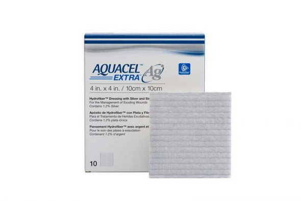 Aquacel Ag Extra Dressing 10Cmx10Cm 420676 _ 10Pcs