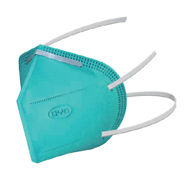 BYD Genuine N95 Face Mask Respirator, ≥95% filtration efficiency, 20pc/Box