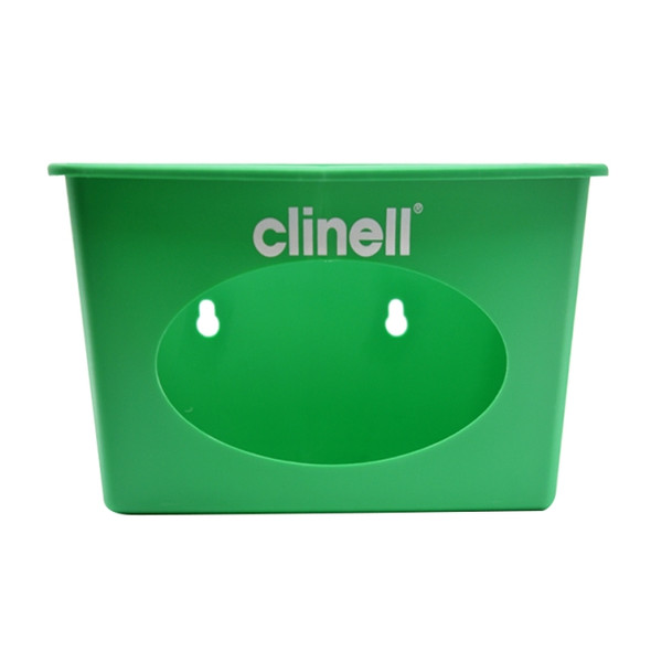 Clinell Wall Dispenser for 200wipes/pack (CW200) Green - 2pcs/ctn