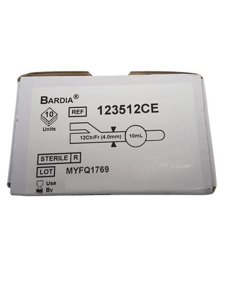 Bardia Catheter 12 G 10cc Silicone Coated Latex 40cm Grey