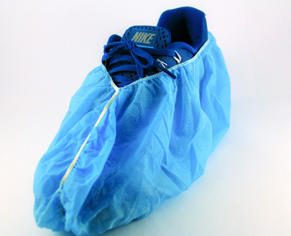 Anti Skid Lab Safety Disposable Protective Non Slip Overshoe