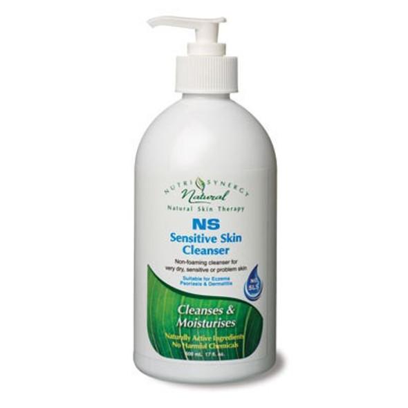 NUTRI-SYNERGY SENSITIVE SKIN CLEANSER NS 500ml PUMP BOTTLE