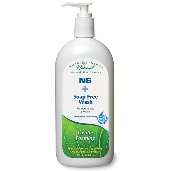 NUTRI-SYNERGY SOAP FREE WASH - NS 500ml PUMP BOTTLE